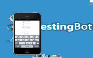 Appium testing on TestingBot: automated hybrid/native iOS testing.