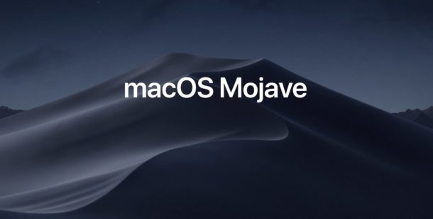 macOS Mojave automated testing
