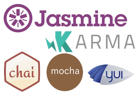 Javascript unit testing with Selenium WebDriver, Karma/InternJS and