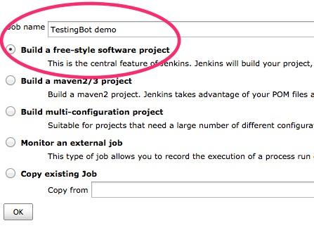 Selenium cloud testing with Jenkins