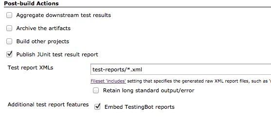 TestingBot Jenkins plugin for Selenium tests